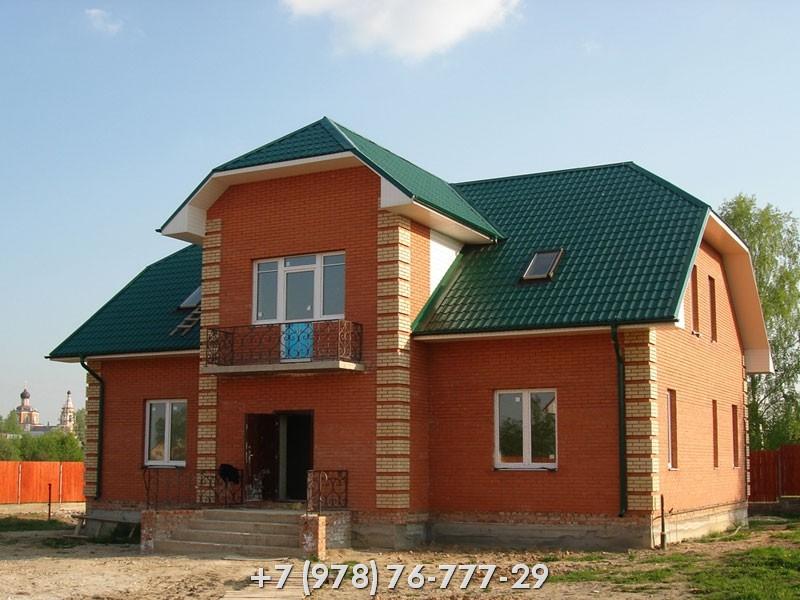 Кирпичный дом Крым