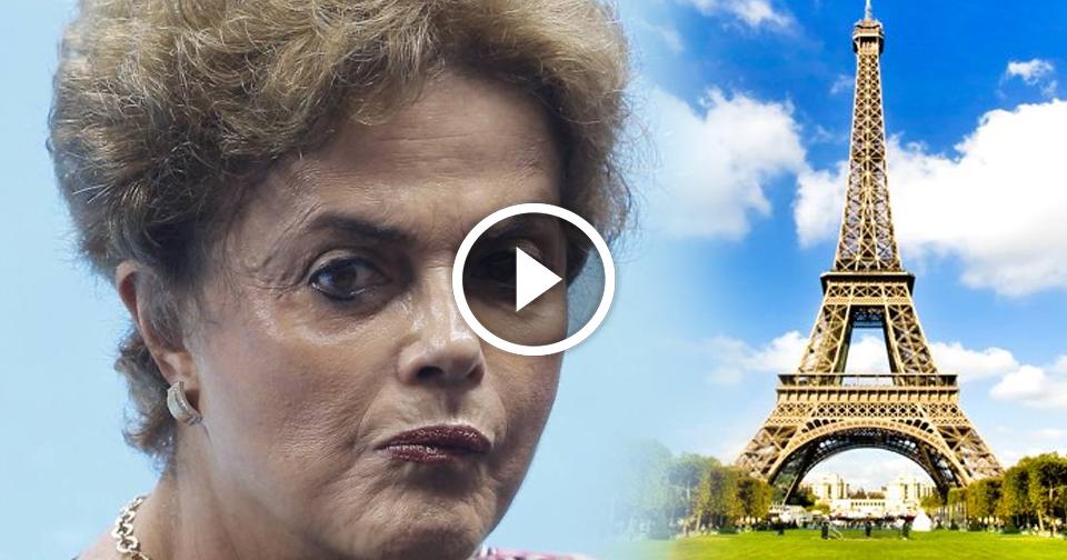 Resultado de imagem para Dilma vira piada francês