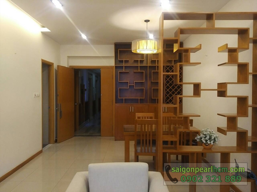 Saigon Pearl tầng 23 tòa nhà Ruby 2 cho thuê căn hộ - hình 4