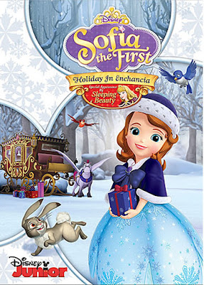 Sofia The First: Holiday On Enchancia 2018 DVD R1 NTSC Latino