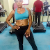 Uhm! See this toned body of actress Uche Ogbodo, but I'm seeing something else