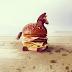 Seni Burger - Burger Sebagai Kanvas Untuk Dua Orang Artist Perancis Yang Kreatif Ini!