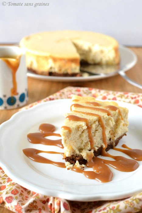 Apple cheesecake
