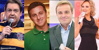 Resultado de imagem para Confira quais são os salários dos apresentadores mais bem pagos da TV