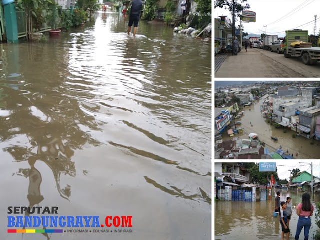 Seperti Biasa, Banjir Bandung Selatan Ganggu Arus Lalu Lintas