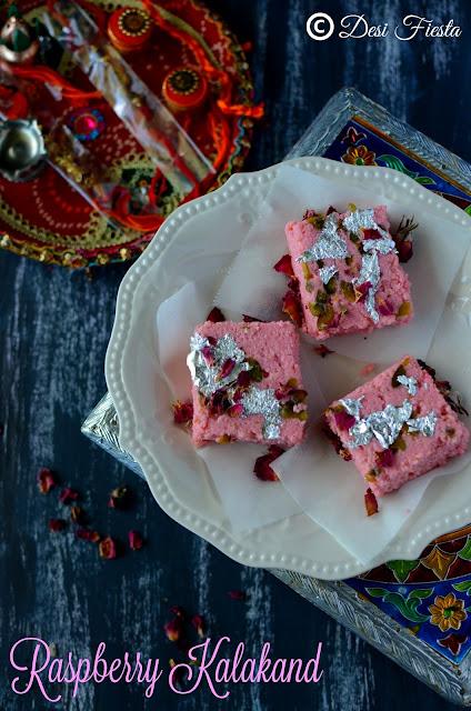 Microwave Kalakand recipe