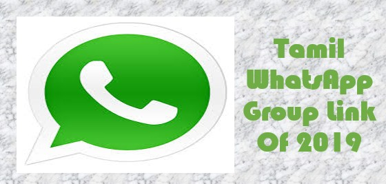 Tamil Whatsapp Group Link Join in 2020