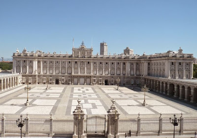Cortile Palazzo Reale Madrid