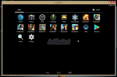 Download Leapdroid Terbaru Gratis Untuk PC/Laptop Windows 10,8,7 Emulator Android Terbaik 2019