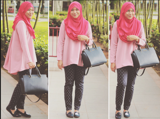 Tips Padu Padan Warna Hijab Dengan Baju Agar Terlihat Modis Dan