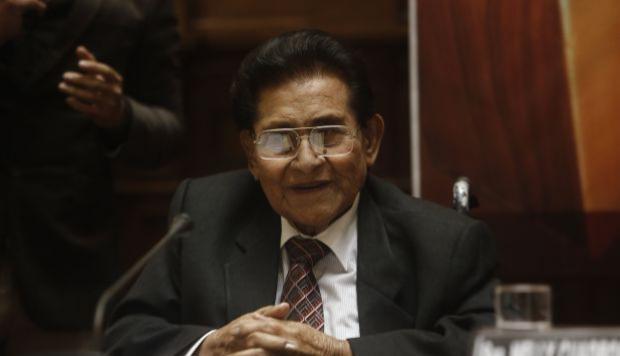 """Luis Abanto Morales y su última entrevista con """"El Comercio"""""""