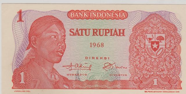 uang kuno jendral soedirman Rp1 infindonesia.blogspot.com