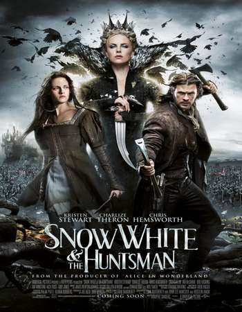 Snow White and the Huntsman 2012 Dual Audio 350MB BRRip 480p – EXTENDED