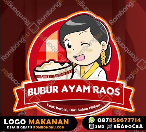 Logo Makanan Logo Makanan Bubur Ayam
