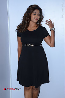 Tollywood Actress Geethanjali Thasya Latest Pos in Black Short Dress at Nanna Nenu Na Boyfriends Audio Launch  0030.JPG