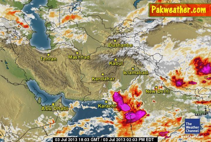 Monsoon in Pakistan - PakWeather com