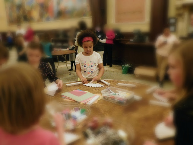 Girl Scouts at Playhouse Square | craft station #gsneo