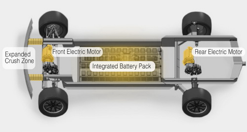 www.Tinuku.com Workhorse W-15 plug-in hybrid scheduled the first debut double cabin pickup truck electric power