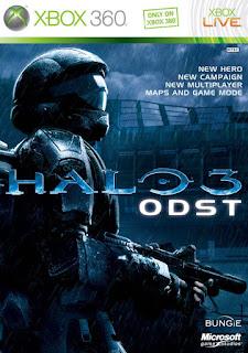 Halo 3 ODST (X-BOX 360) 2009 DUBLADO PT-BR