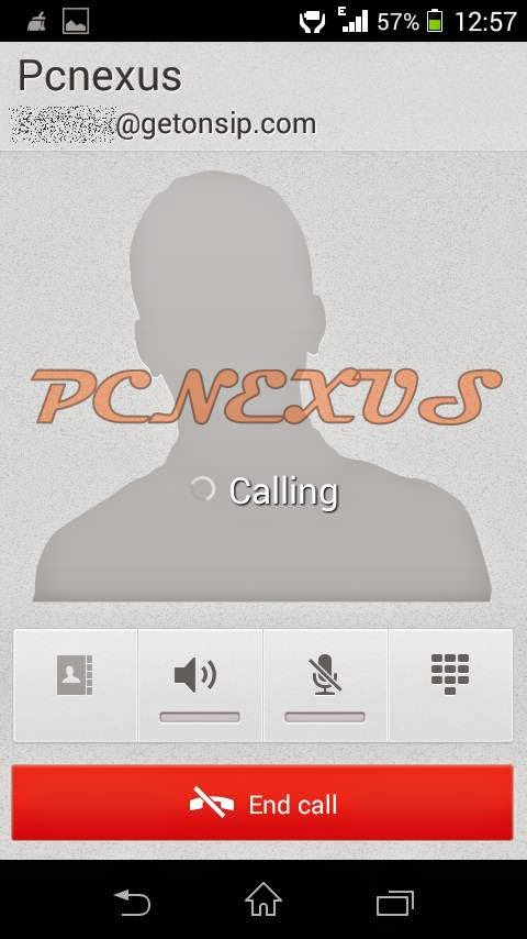 VoIP calling on android