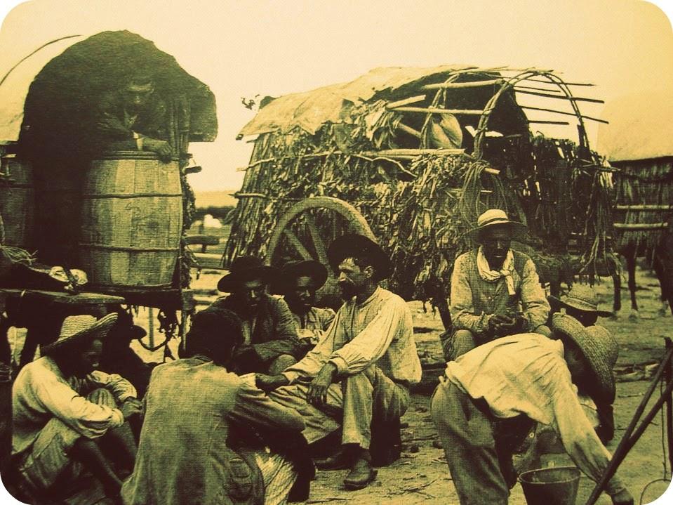 Carreteiros em Porto Alegre, em 1890