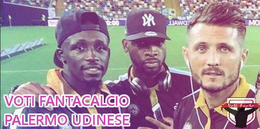 SPORT MILANO VOTI:  Voti Fanta FANTACALCIO Palermo-Udinese 10 giornata serie A