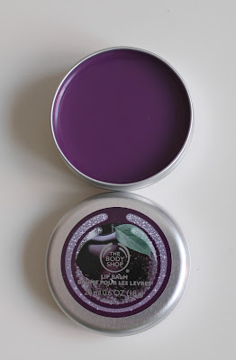 The Body Shop lip balm frosted plum
