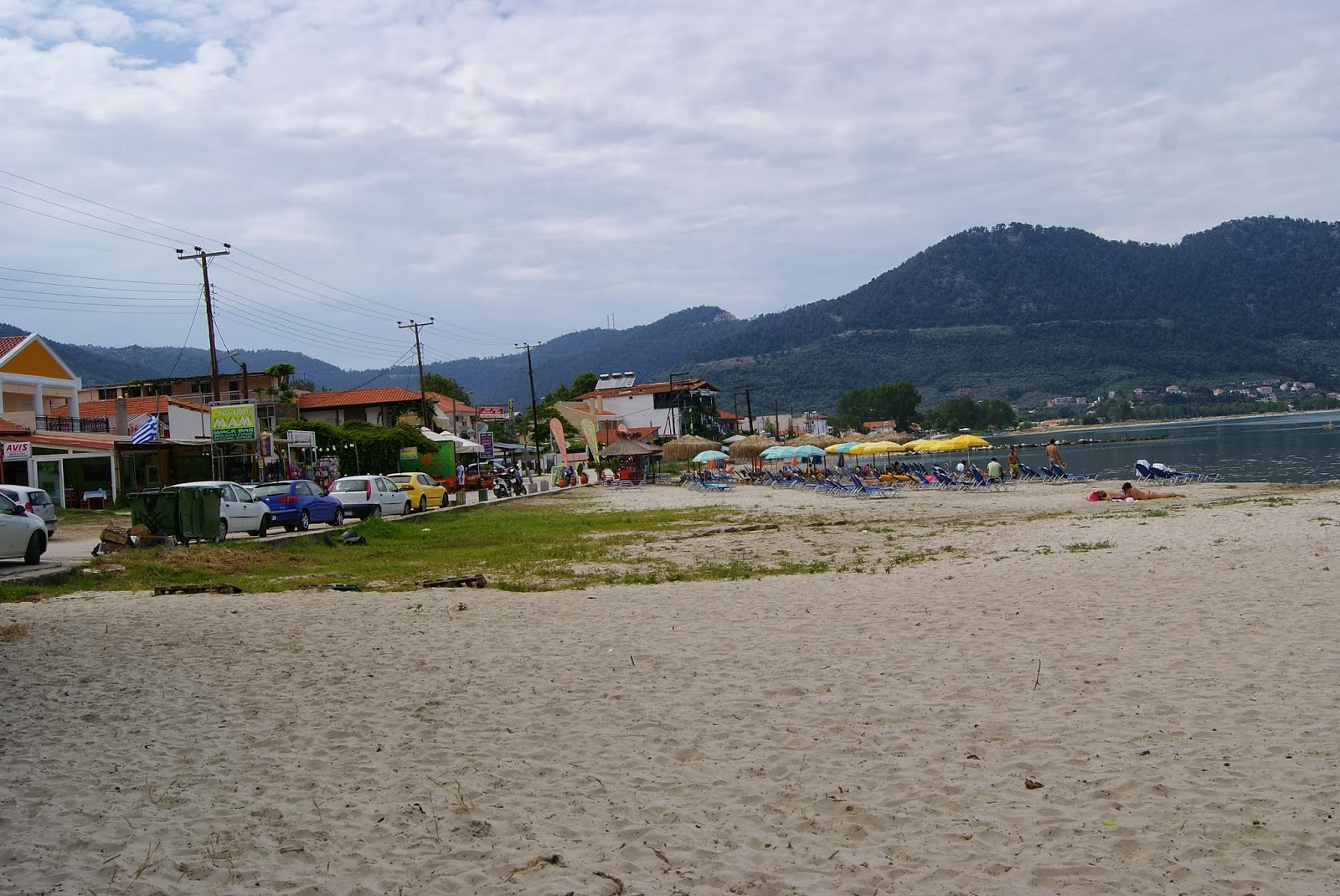 Golden Beach, wyspa Thassos