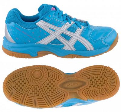 Dívčí sálová - halová obuv Asics Gel Squad GS C336Y-4001 modré