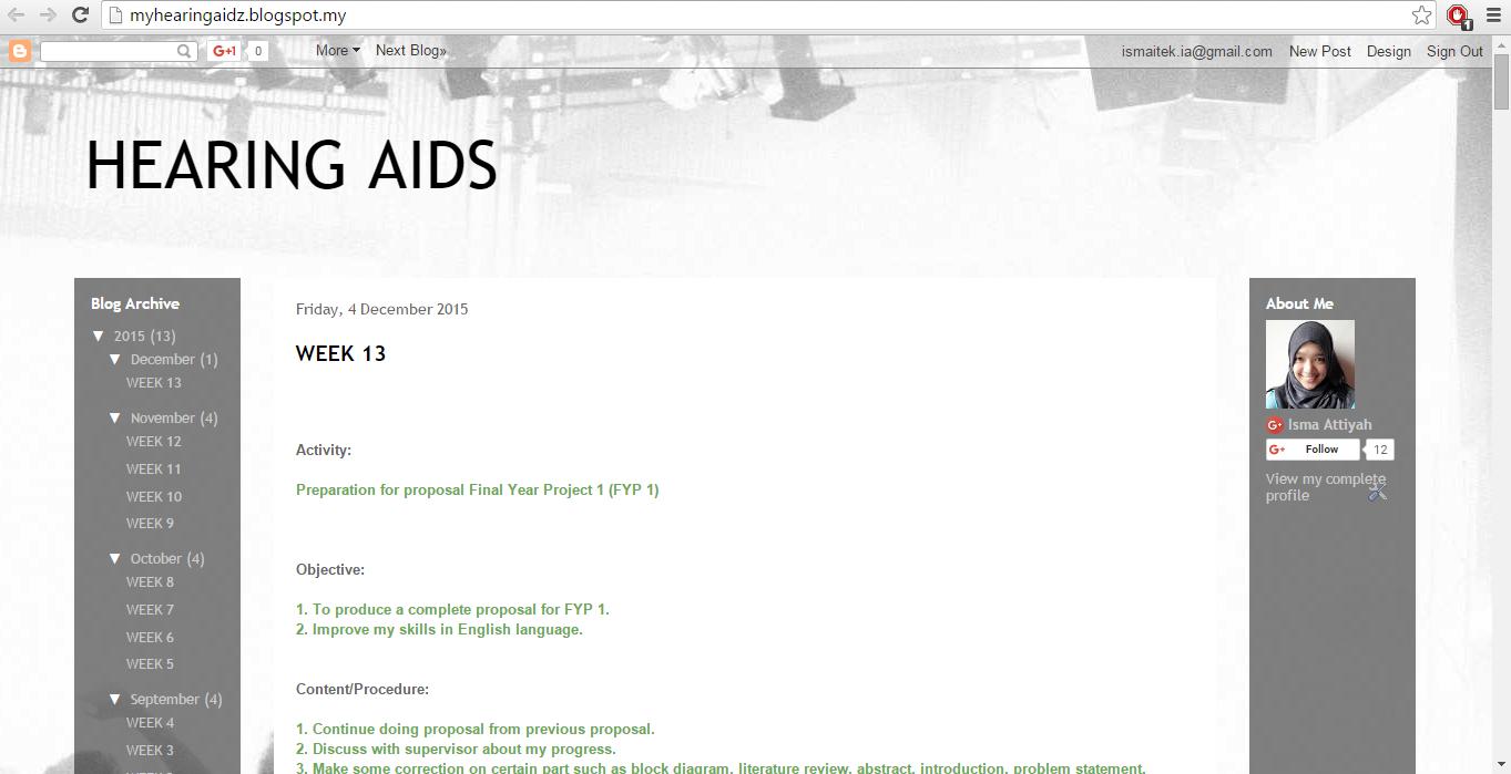 HEARING AIDS: 2015