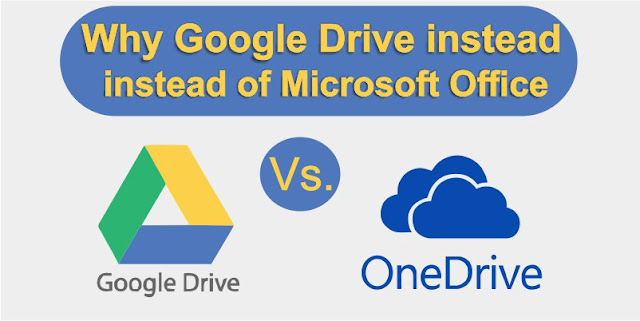 Google Drive Instead of OneDrive