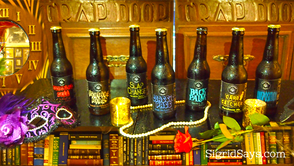 The Trap Door craft beers