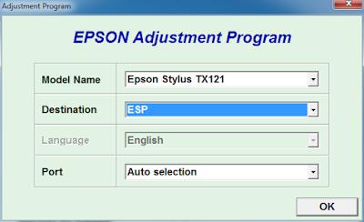 Download Gratis Resetter Epson Stylus TX121 Dan ME320
