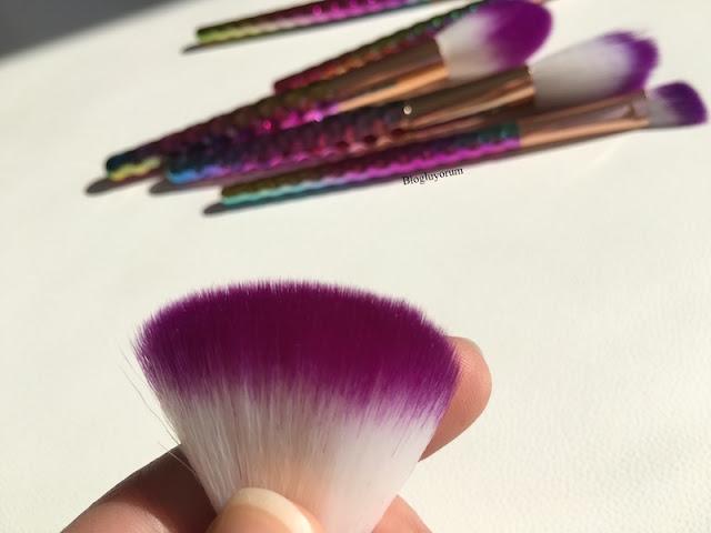 to save alışverişi unicorn makyaj fırça seti 10