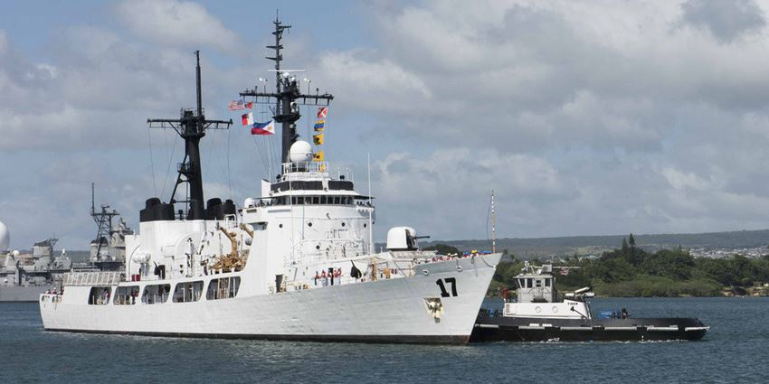 Philippine Navy Receives New Warship Brp Andres Bonifacio From The