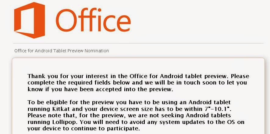 Android MS.Office
