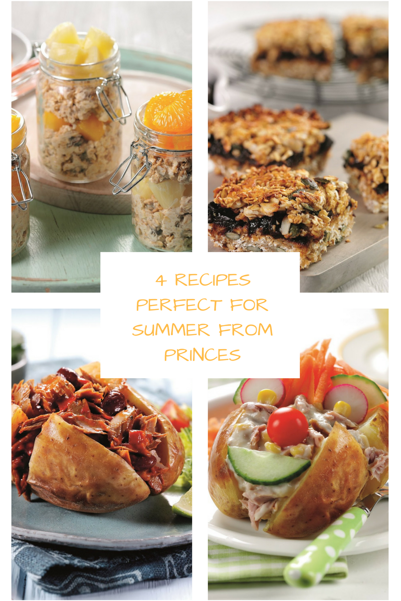 4 Recipes Perfect For Summer From Princes