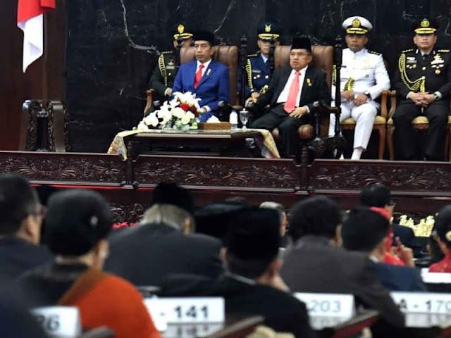 Jokowi Nilai Keamanan Jadi Modal Perkuat Ekonomi Makro