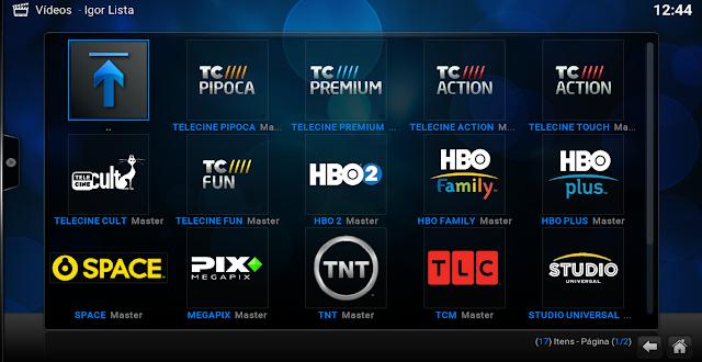 Listas de Canais IPTV Atualizadas