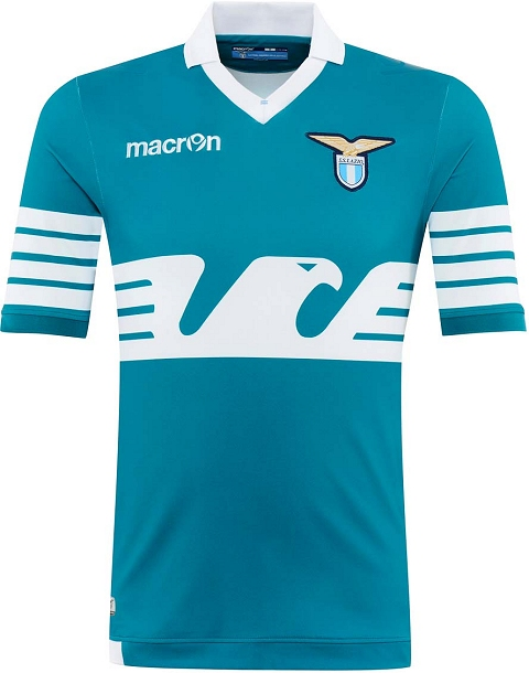 Lazio divulga camisa comemorativa feita pela Macron - Show de Camisas 3ae90b72c5a43