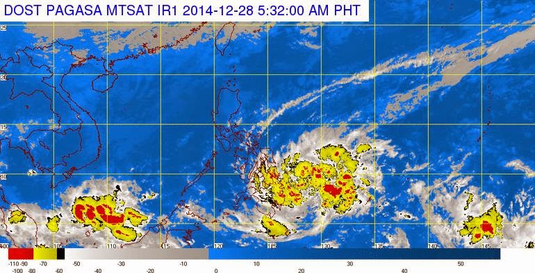 PAGASA releases 'Bagyong Seniang' weather update (December 28, 2014)