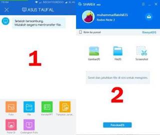 Tutorial Transfer/Kirim File Dar Android Ke PC Dengan SHAREit