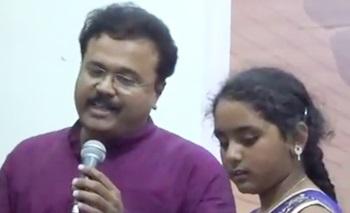 Maaya Nadhi Kabali Song Cover Ganesh Samiksha