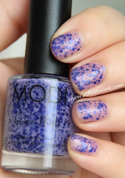 Modi nail polish 78 - Beautiful stranger: one coat
