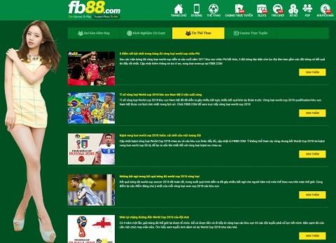 Trang web cá độ bóng đá là nơi vui chơi, giải trí