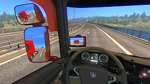 Reverse Camera for Scania T & RS by RJL