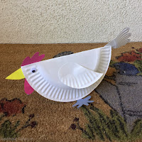 Paper Plate Chicken Craft Cock A Doodle Doo The Joy Of Sharing