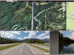 guidare le strade in Street View