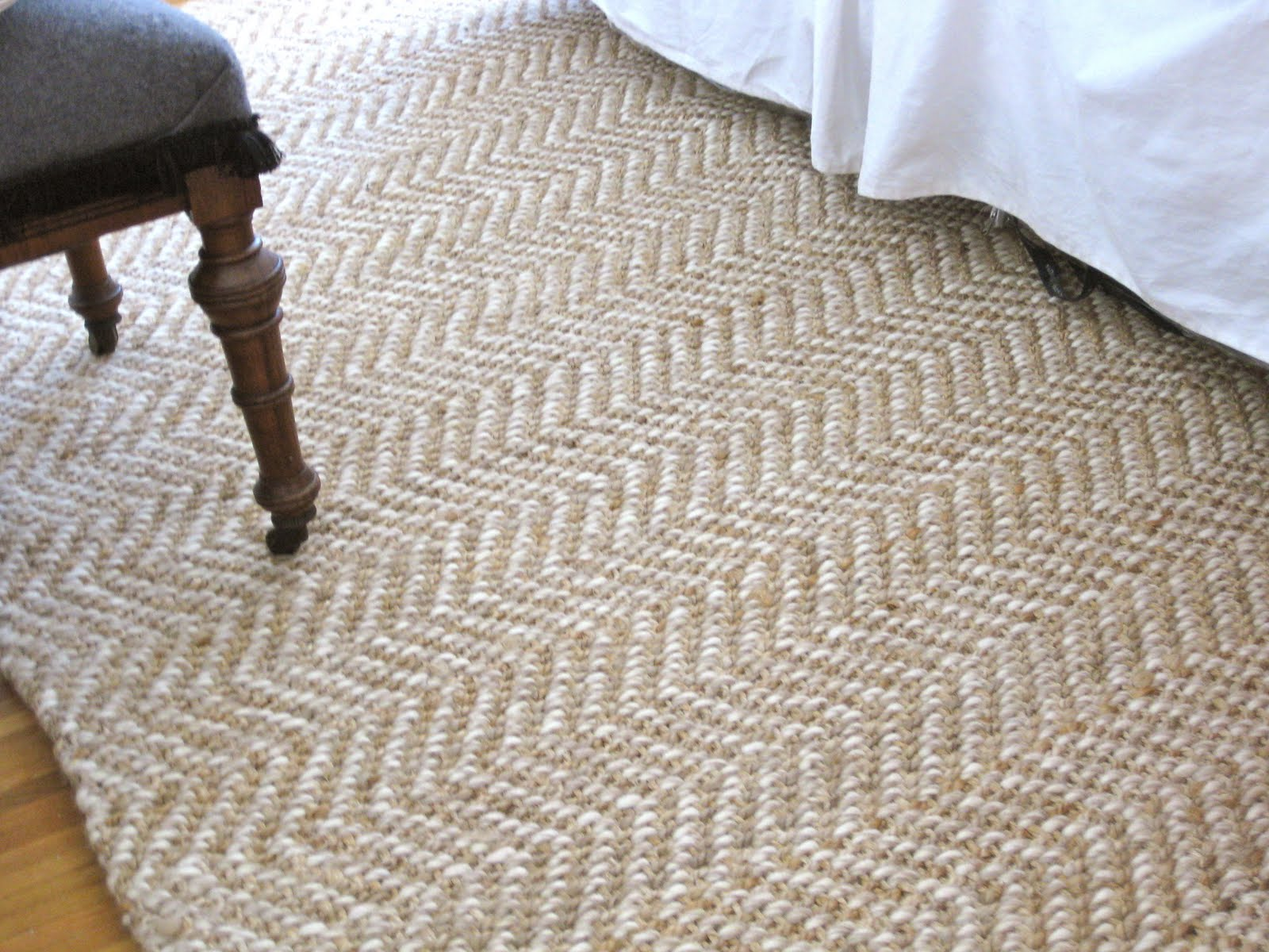 Herringbone Area Rug Home Decor