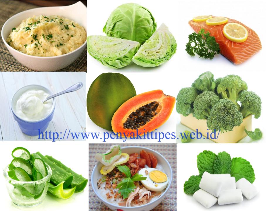 Makanan Yang Baik Untuk Penderita Gastritis